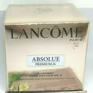 LANCOME ABSOLUE PREMIUM BX SUNSCREEN REPLENISHING CREAM SPF15 2020 SEALED 1.7oz