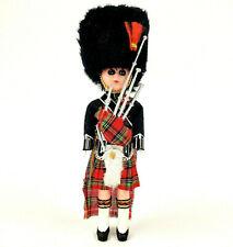 Vintage 1960's Scottish Royal Palace Guard 8� Doll Uk British Sleepy Eyes Kilt