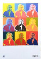Stefano Fiore - Grafica d'autore numerata e firmata - Kurt Cobain