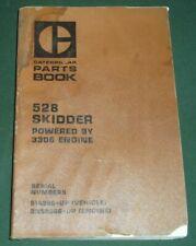 Cat Caterpillar 528 Skidder Parts Book Manual Sn 51s00288 51s00736
