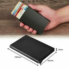 RFID Blocking Aluminum Slim Wallet ID Credit Card Holder Case Protector Purse AU