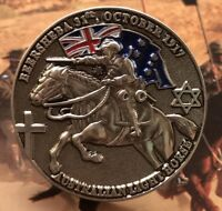 Charge at Beersheba Lapel Pin *Remembrance Day * ANZAC Day*NEW 26mm