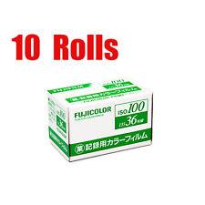 10 Rolls Fujifilm Business 100 Industrial ISO 100 35mm 36EXP Negative Film 2018