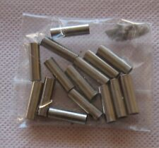 Brass Crimps For Nylon Covered Trace Wire 0.7mm for Closed Loop Systems PK10
