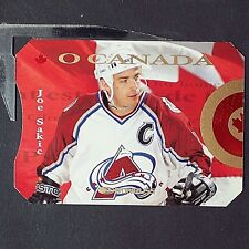 JOE SAKIC /2000   1996-97 Donruss Canadian Ice O Canada #1  Colorado Avalanche