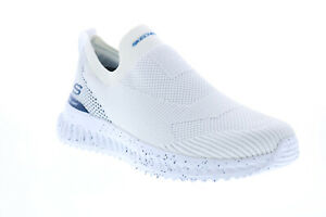 Skechers Matera 2.0 Hypra 232065 Mens White Canvas Lifestyle Sneakers Shoes