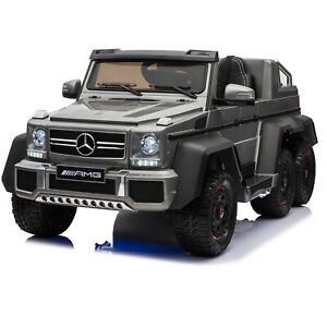 Licensed Mercedes Benz G63 with 6 Wheels 4WD Kids Ride On Car Remote control - G