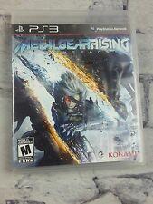 PS3 Metal Gear Rising: Revengeance Raiden Action Stealth Katan Combat Challenge