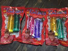 """3x 5"""" Super Pet Mini FUN-NELS Tubes Pack Critter Trail Dwarf Hamster & Mice NEW"""