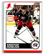 (HCW) 2010-11 Score Glossy #157 Kristian Huselius Blue Jackets Mint