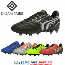 DREAM PAIRS Kids Soccer Shoes Boys Girls Football Boots FG Shoes Soccer Cleats