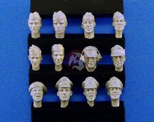 Legend 1/35 German Soldier Heads Set No.3 WWII (12 heads) [Resin Figure] LF0113
