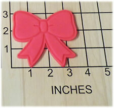 Ribbbon Bow Shaped Cookie Cutter and Stamp #1215