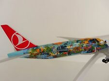 TURKISH AIRLINES Boeing 777-300ER SPECIAL SFO-ISTANBUL 1/200 SKR854 Skymarks