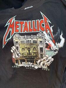 Metallica Metro t-shirt Chicago XL 2021 concert tour new
