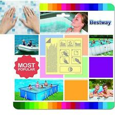 Bestway 10x Underwater Adhesive Repair Patches Lay Z Spa Pool Kit