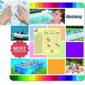 Bestway 10x Underwater Adhesive Repair Patches Lay Z Spa Pool Kit