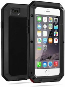 Aluminum Metal Gorilla Glass Heavy Duty Protective Case For iPhone13 12 11 8 7p