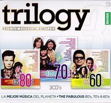 Roy Orbison,Bee Gees,Gloria Gaynor,Air Supply,Kansas,Kim Carnes 3CD New Nuevo Se