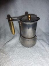 vecchia caffettiera design VEV VIGANO' - rare coffee maker