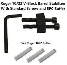 Aluminum Ruger 10/22 1022  SR-22 V-block  V Block Stabilizer, With Bolt Screw