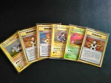 Carte pokémon lot de 6 holos '' deck gym '' Japanese wizards