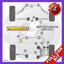 BMW E60 5 Series, M5 (2003-2010)  Powerflex Complete Bush Kit