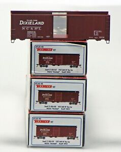 Atlas Trainman HO Scale AAR 40' Boxcar Kits - NC&StL