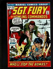 SGT. FURY AND HIS HOWLING COMMANDOS 94 VF+ 8.5 NICK & DUM DUM MANELLI AYERS KANE