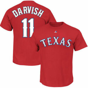 Majestic Texas Rangers / Darvish #11 / T Shirt / Men's / New With Tags / Reg $32