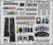 Eduard 1/32 Lockheed F-104G Starfighter Interior for Italeri # 33131/*
