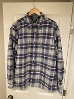 Men's ORVIS Heritage Active Fit Multi-Colored Plaid Button Front Shirt Size XL