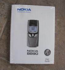 WOW NEW SEALED RARE VINTAGE Nokia 8890 Cellular Phone INSTRUCTION MANUAL