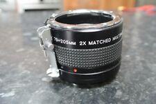 VIVITAR MC 75-205mm 2x abbinato Moltiplicatore per NIKON AI Lens