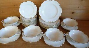 Royal Crown Derby Regency A1075 Gold Trim Tableware - Please Choose