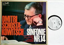 Chostakovitch Symphonie symphony 14 BARSCHAI-LP Eurodisc 80895 MK Presque comme neuf