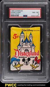 1965 Donruss Disneyland Wax Pack PSA 8 NM-MT