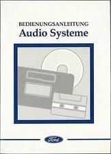 FORD AUDIOSYSTEME Radio 1997 Bedienungsanleitung 1000 3000 5000 7000 2060 ... RN