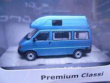 VW Volkswagen Bus T4 Camping California Hochdach blau blue me Premium Cla.  1:43