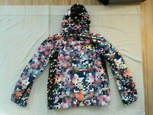 "BURTON Pixplosion Slub DryRide snowboard jacket Mens XL 52""chest, Idiom pixel"