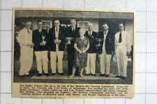 1964 Mounts Bay Bowling , Ian Edwards, Cyril Cutts, Barnstaple, Fred Slater, Lyn