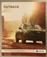 2020 SUBARU OUTBACK 24-page Original Sales Brochure