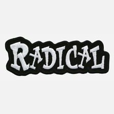 RADICAL Embroidered Biker Patch
