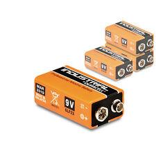 4 x Duracell 9V Block Industrial Batterie 6LR61 MN1604 E-Block Alkaline 4 Stück