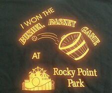 Rocky Point Amusement Park Warwick RI Shirt Mens XL Tee Roller Coaster