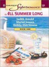 All Summer Long (Super Romance) By Judith Arnold, Muriel Jensen, Bobby Hutchins