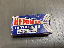 New listing Vintage Federal Hi-Power, 22 Short, Ammo Box, (Empty)