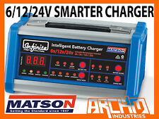 MATSON 6/12/24V INFINITE SMART BATTERY CHARGER SUIT GEL, AGM, CALCIUM, DRY CELL