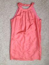 $168 New J Crew Swoop Dress T4 4T Tropical Guava 64314