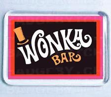 WONKA BAR SMALL FRIDGE MAGNET - RETRO COOL!